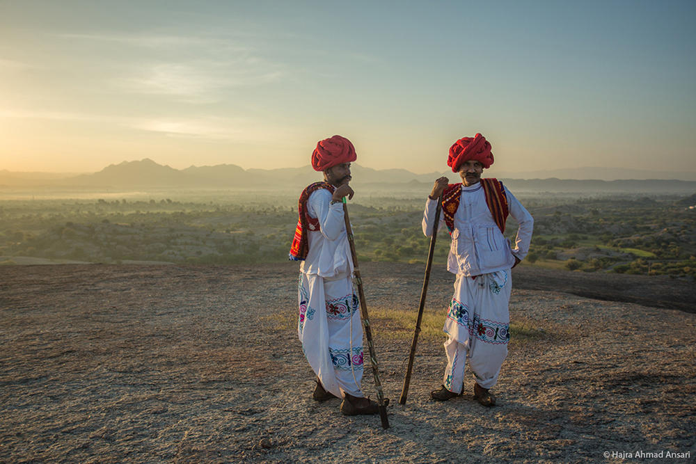 Two Men in Traditional Outfit - Travel Photography by LLA Alumni Hajra Ahmad