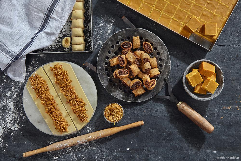 Indian Snacks and Sweets - Food Photography by LLA alumni Mihir Hardikar