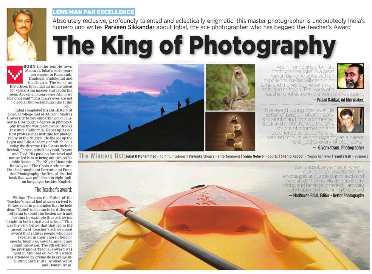 The King of Photography - Iqbal Mohamed